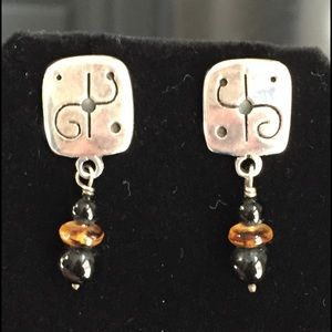 Sterling silver southwest designer earrings